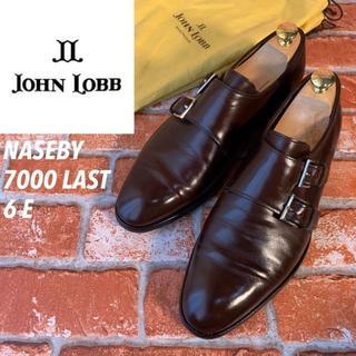 ジョンロブ(JOHN LOBB)の【入手困難】ジョンロブ ナセビー NASEBY ダブルモンク 7000ラスト 6(ドレス/ビジネス)
