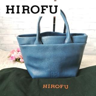 ヒロフ♥トートバッグ♥ハンドバッグ♥ブルー 315(ハンドバッグ)