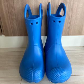 crocs - 【美品】クロックス 長靴 18センチ 11cサイズ 青