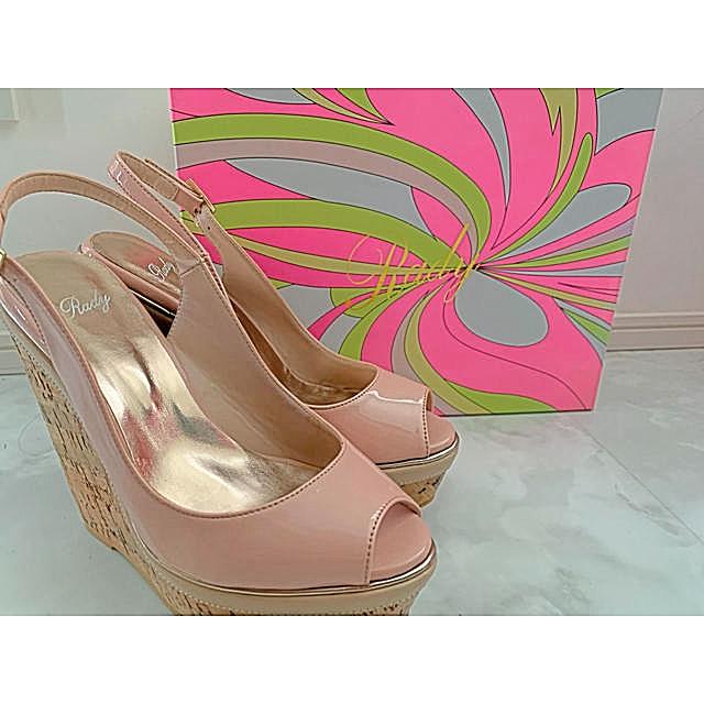 Rady(レディー)のRady ウェッジソール コルク サンダル ヒール レディースの靴/シューズ(サンダル)の商品写真