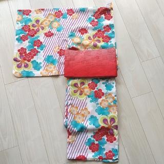 浴衣&帯  レディース  三松(浴衣)