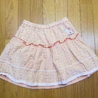 サンリオ(サンリオ)のウサハナ スカート 120(スカート)