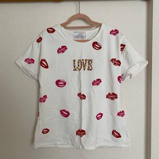 Rady - Rady リップ柄 Tシャツ