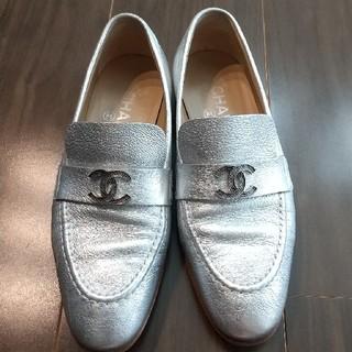 シャネル(CHANEL)のシャネル ローファー 36(ローファー/革靴)