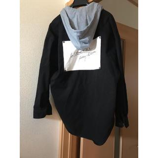 シマムラ(しまむら)のフード付き シャツジャケット(ミリタリージャケット)