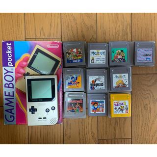 任天堂 - ゲームボーイポケットとゲームソフト―10本