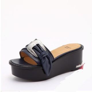 TOGA - TOGA PULLA Metal platform sandals サンダル