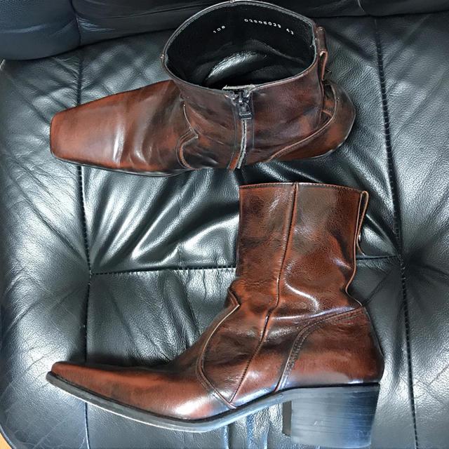 5351 POUR LES HOMMES(ゴーサンゴーイチプールオム)のnfhyr056様専用 メンズの靴/シューズ(ブーツ)の商品写真
