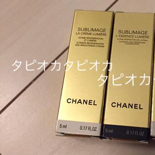 シャネル(CHANEL)のCHANEL  シャネル 試供品 サンプル 美容液 化粧水(美容液)