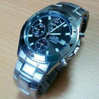 アルバ(ALBA)の腕時計 クロノグラフ SEIKO ALBA(セイコー アルバ) (腕時計(アナログ))