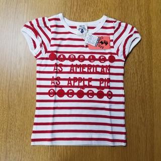 レディーアップルシード(REDDY APPLESEED)のレディーアップルシード★Tシャツ(110cm.赤)(Tシャツ/カットソー)