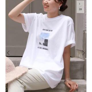 イエナ(IENA)のIENA   Bonne Vie フォト Tシャツ◆(Tシャツ(半袖/袖なし))