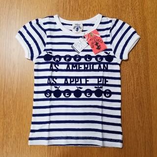 レディーアップルシード(REDDY APPLESEED)のレディーアップルシード★Tシャツ(110cm.紺)(Tシャツ/カットソー)