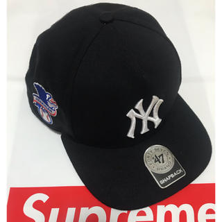 Supreme - 美品 Supreme 15SS Yankees cap ヤンキース キャップ