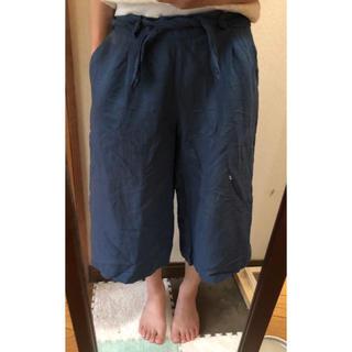 ジーユー(GU)のサラッと着れる ワイドパンツ(その他)
