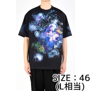 ラッドミュージシャン(LAD MUSICIAN)の新品 LAD MUSICIAN BIG T-SHIRT Tシャツ 20SS 青紫(Tシャツ/カットソー(半袖/袖なし))