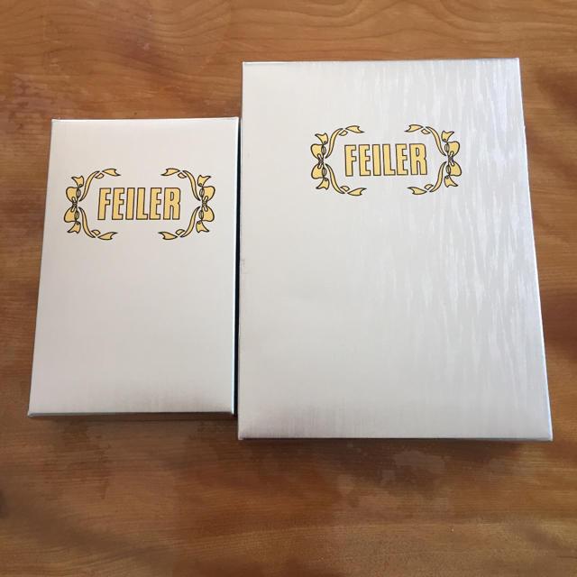 FEILER(フェイラー)のフェイラー タオルハンカチ 大小箱セット その他のその他(その他)の商品写真