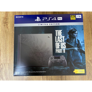 SONY - PS4 Pro The Last of Us Part II ラストオブアス2