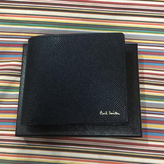 ポールスミス(Paul Smith)の新品未使用 ポールスミス 折財布(ネイビー)(折り財布)