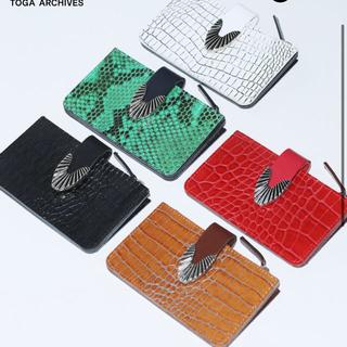 トーガ(TOGA)のTOGA 財布 直営店限定カラー green(折り財布)