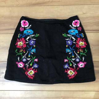 フィグアンドヴァイパー(FIG&VIPER)のFIG&VIPER 刺繍スカート(ミニスカート)