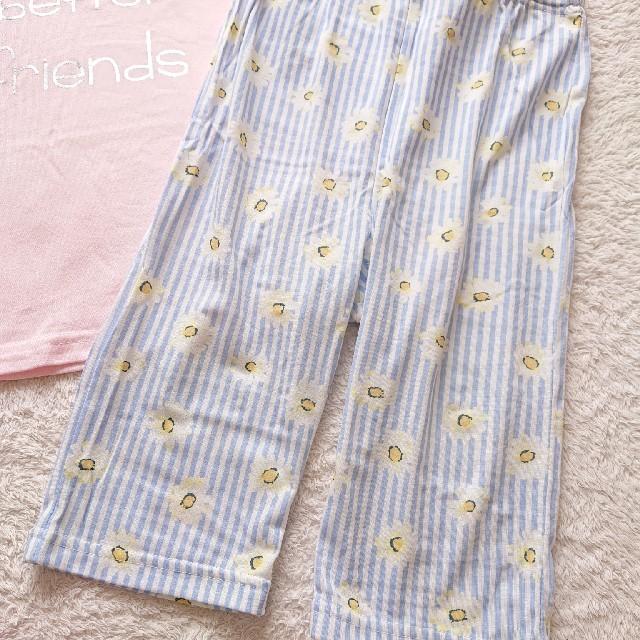 パジャマ セットアップ ルームウェア 120 キッズ/ベビー/マタニティのキッズ服女の子用(90cm~)(パジャマ)の商品写真
