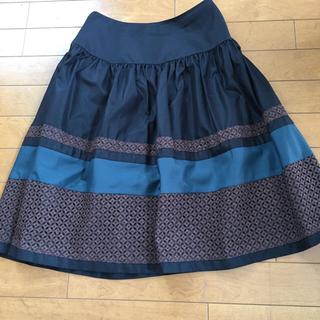 M'S GRACY - 美品 エムズグレイシー タフタ フレアスカート