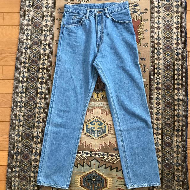 UNUSED(アンユーズド)のUNUSED UW0631 17AW テーパードデニム DENIM アンユーズド メンズのパンツ(デニム/ジーンズ)の商品写真