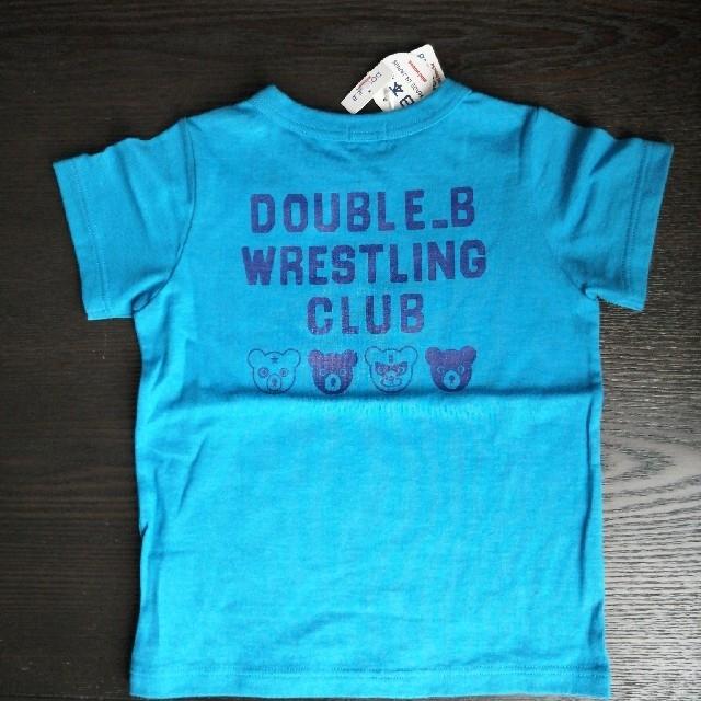 DOUBLE.B(ダブルビー)のダブルB 半袖シャツ キッズ/ベビー/マタニティのキッズ服男の子用(90cm~)(Tシャツ/カットソー)の商品写真