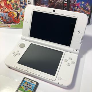 ニンテンドー3DS - ◉良品‼︎ ニンテンドー3DS LL ピンク×ホワイト 送料込!
