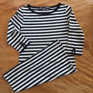 MARY QUANT - マリークワント ボーダー ロングTシャツ ワンピース