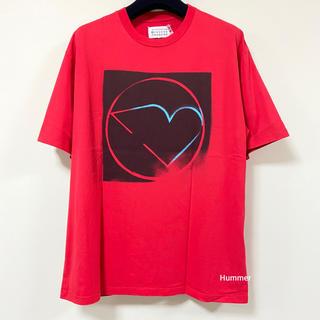マルタンマルジェラ(Maison Martin Margiela)の国内正規品 メゾンマルジェラ 半袖Tシャツ スプレープリント 17AW〜 極美品(Tシャツ/カットソー(半袖/袖なし))