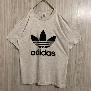 アディダス(adidas)の【USA製】90s adidas アディダス トレフォイル 両面プリント(Tシャツ/カットソー(半袖/袖なし))