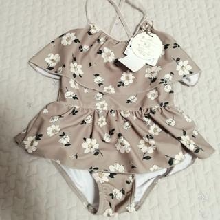 キャラメルベビー&チャイルド(Caramel baby&child )の花柄水着 ワンピース水着(水着)