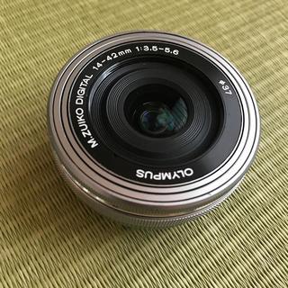オリンパス(OLYMPUS)のm.zuiko digital 14-42mm レンズ ジャンク品(レンズ(ズーム))