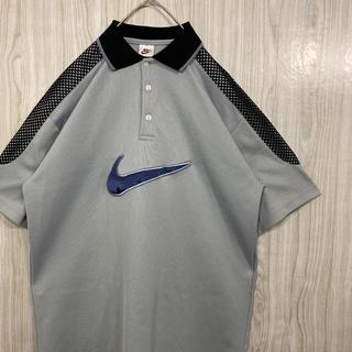 ナイキ(NIKE)の激レア 90s NIKE ナイキ 銀タグ ゲームシャツ 刺繍ロゴ(Tシャツ/カットソー(半袖/袖なし))