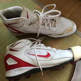 ナイキ(NIKE)のナイキ 野球 スパイク 29.5? ピッチャー 右足カバー付き シューズ 靴(シューズ)