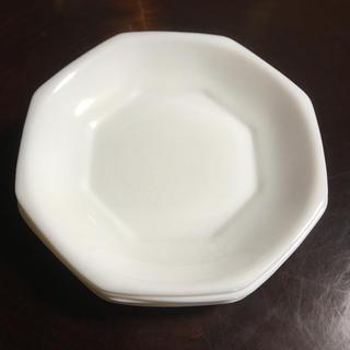 ヤマザキセイパン(山崎製パン)のヤマザキ春のパン祭り 1990  白いデリッシュ皿 5枚セット 年代もの(食器)