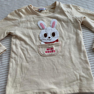 mikihouse - 【中古】ミキハウス うさこちゃんトレーナー 110