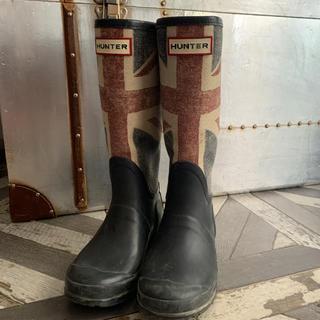 ハンター(HUNTER)の限定品ハンターユニオンジャックUK13(長靴/レインシューズ)
