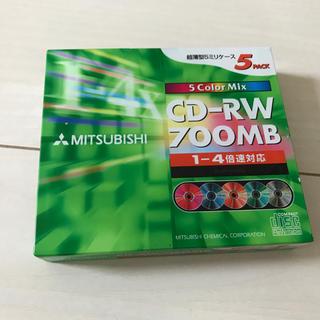 ミツビシ(三菱)のCD  RW   5colourセット(PC周辺機器)