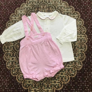 baby Dior - ヘビーディオール ブラウス&ショートオール Baby Dior