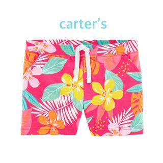 カーターズ(carter's)の【新品】カーターズ トロピカル ショートパンツ 3T(パンツ/スパッツ)