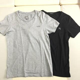 BURBERRY BLACK LABEL - バーバリーブラックレーベル 重ね着Tシャツ  2枚セット