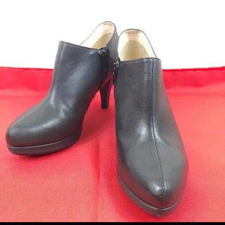アンタイトル(UNTITLED)のUNTITLED ショートブーツ ブーティ ジップアップ 約22.5cm(ブーツ)