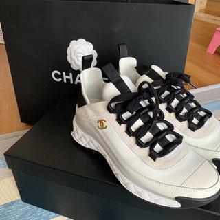 CHANEL - CHANEL/シャネル完売スニーカー/靴/ロゴ入り/新品未使用