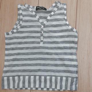 COMME CA ISM トップス タンクトップ 半袖 シャツ Tシャツ(Tシャツ/カットソー)