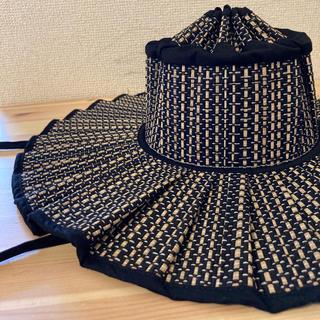ドゥロワー(Drawer)のLorna Murray Melbourne Shell S サイズ 新品(麦わら帽子/ストローハット)