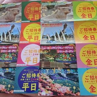 伊豆シャボテン公園等株主優待券(遊園地/テーマパーク)