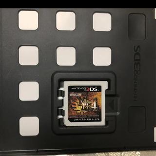 ニンテンドーDS(ニンテンドーDS)のモンスターハンター4(携帯用ゲームソフト)